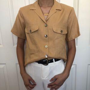 Vintage collard shirt